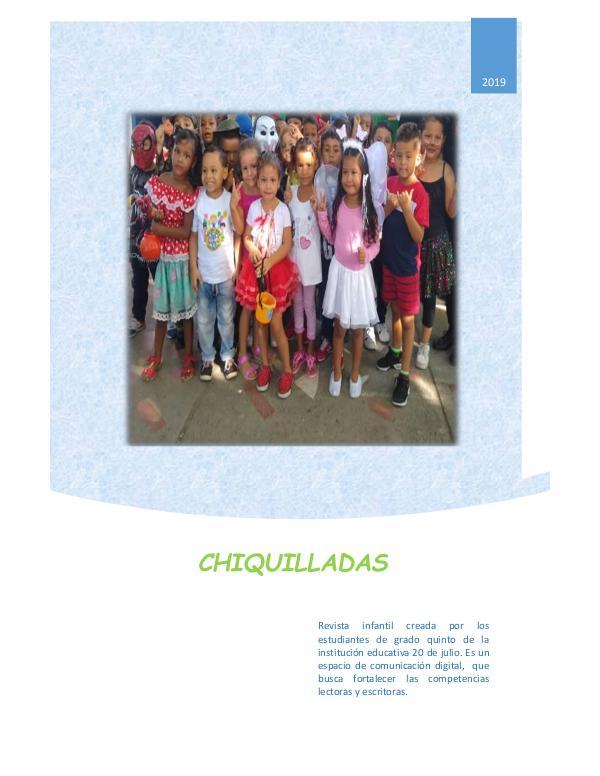 Revista digital Chiquilladas artículos revista escolar 1