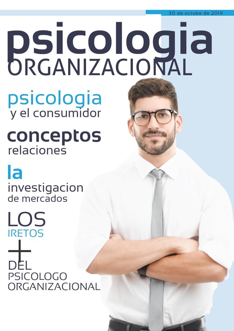 La psicologia organizacional y el mercadeo 1