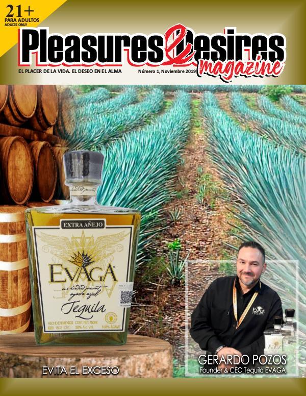Pleasures & Desires, Magazine Noviembre 2019