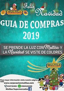CATALOGO NAVIDEÑO MULTISA 2019