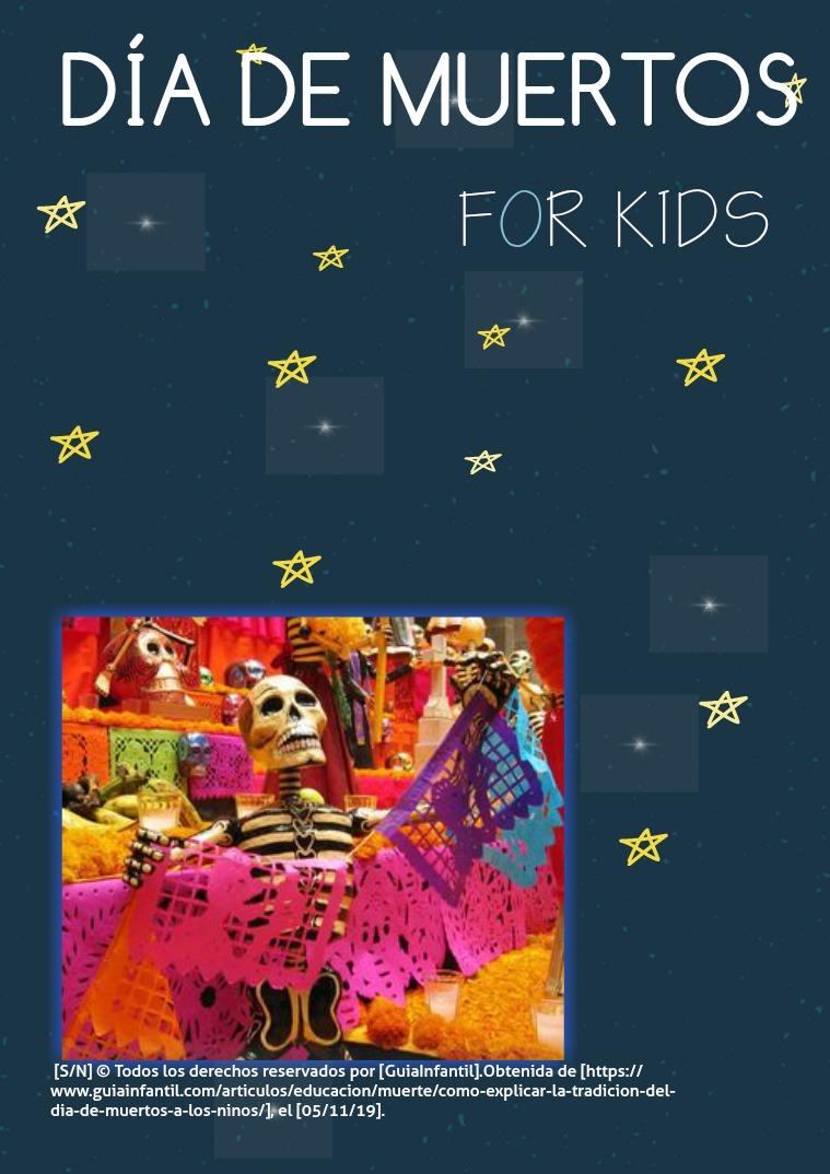 Mi primera publicacion Día de muertos, para niños