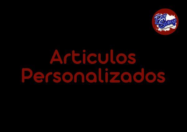 ARTÍCULOS PERSONALIZADOS PARA PAGINA