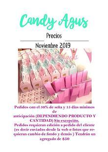 Catalogo Noviembre 2019 Candy Agus