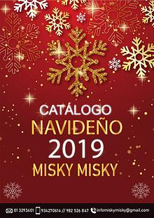 Catalogo navideño 2019