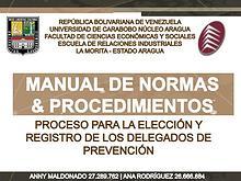 Manual de Normas y Procedimientos para la Elección y Registro de DP