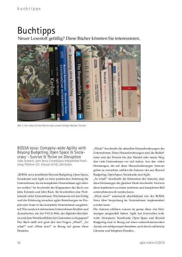 Agile Specials Buchtipps Kompendium (2019)