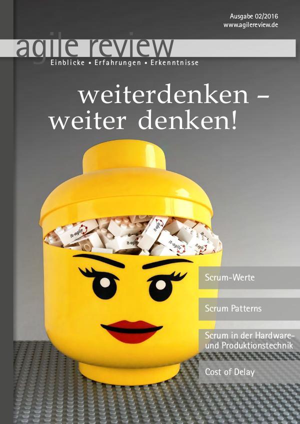 agile review weiterdenken – weiter denken! (2016/2)