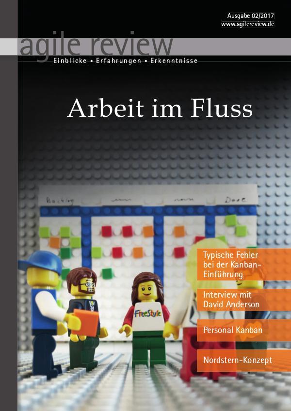 agile review Arbeit im Fluss (2017/2)