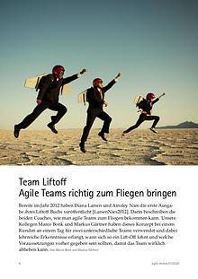 agile review 2020/1 Agilität aufgleisen!