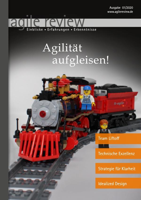 Editorial & Inhalt Agilität aufgleisen! (2020/1)