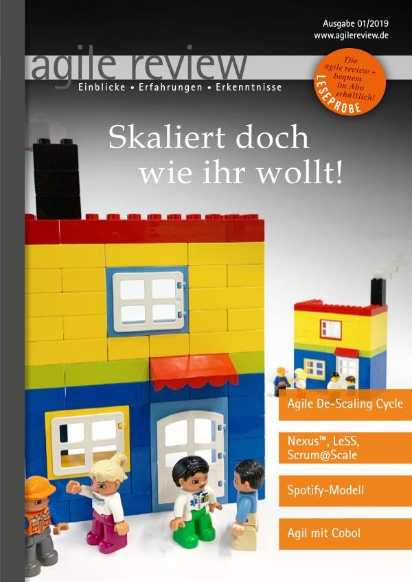 Editorial & Inhalt Skaliert doch wie ihr wollt! (2019/1)
