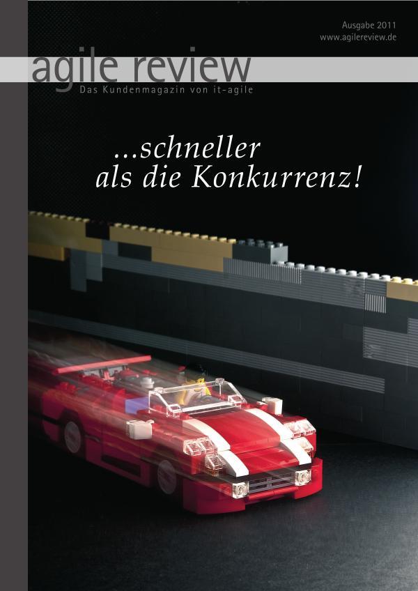 Editorial & Inhalt ... schneller als die Konkurrenz! (2011/1)