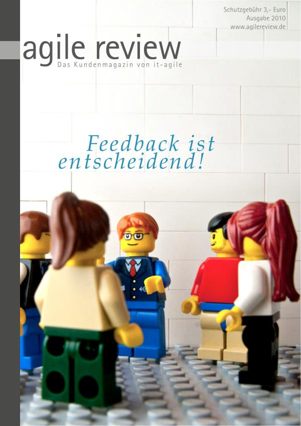 agile review Leseprobe Feedback ist entscheidend! (2010/1)