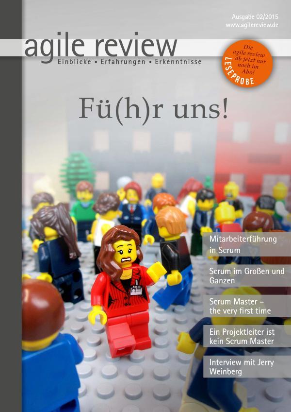 agile review Leseprobe Fü(h)r uns (2015/2)