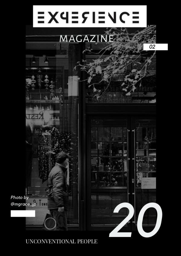 EXPERIENCE magazine #02 02 EXPERIENCE magazine GENNAIO 2020..