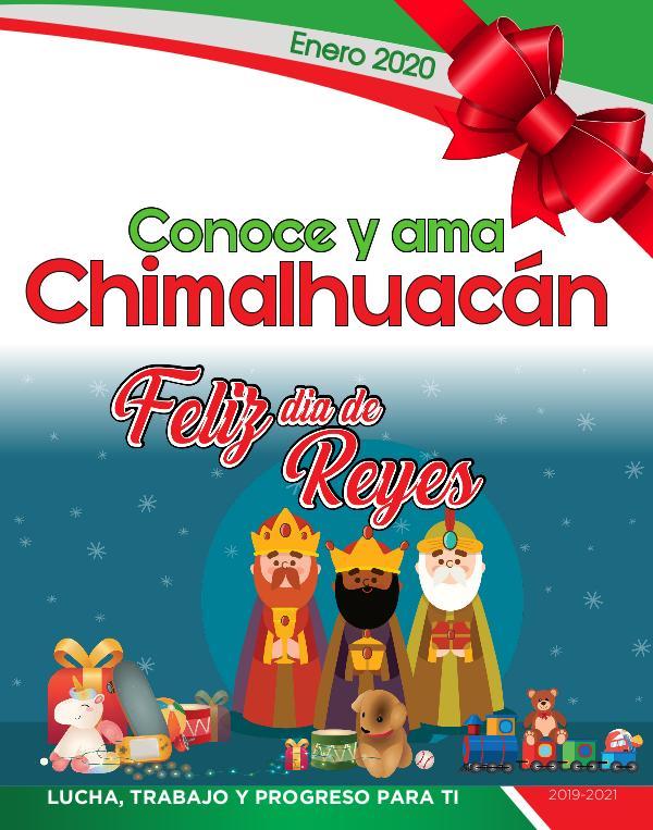 Conoce y Ama Chimalhuacán Enero 2020