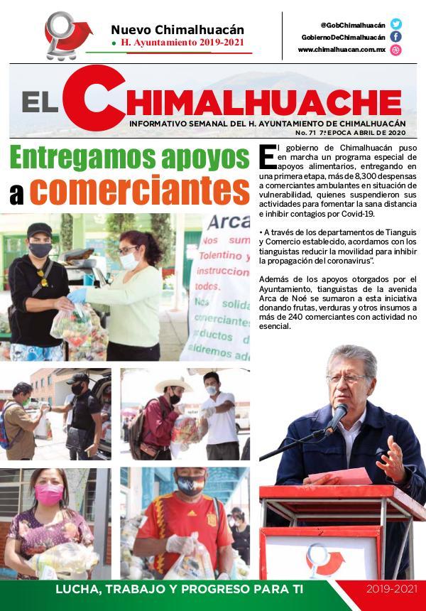 El Chimalhuache #71 Abril 2020