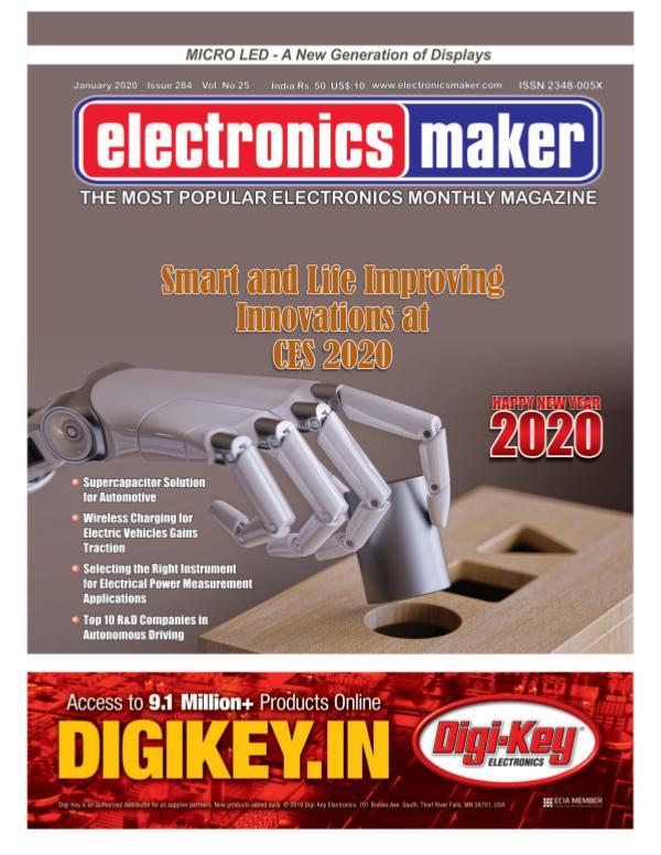 Electronics Maker Electronics Maker January 2020 issue