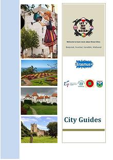"Publication ""City Guides"" - Erasmus Projet ""Let´s hit the road"""