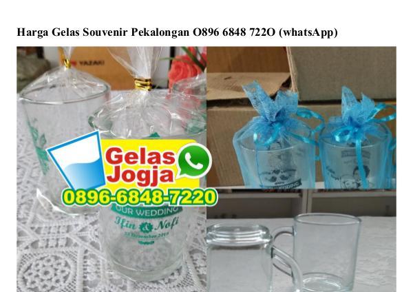 Harga Gelas Souvenir Pekalongan Ô896–6848–722Ô[wa] harga gelas souvenir pekalongan