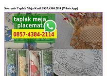 Souvenir Taplak Meja Kecil 0857 4384 2114[wa]