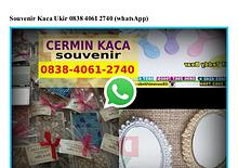Souvenir Kaca Ukir O838_4O61_274O[wa]