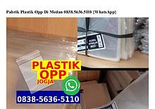 Pabrik Plastik Opp Di Medan 0838 5636 5110[wa]