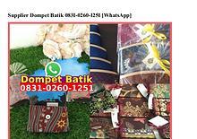 Supplier Dompet Batik 0831.0260.1251[wa]