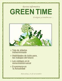 REVISTA GREEN TIME