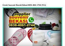 Grosir Souvenir Daerah Bekasi 0838–406I–2744[wa]