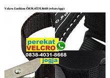 Velcro Emblem Ô838 4Ô31 8668[wa]