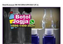 Botol Kemasan 500 Ml O896 1499 3O25[wa]