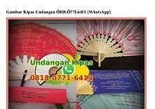 Gambar Kipas Undangan O818·O771·6413[wa]