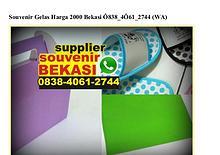 Souvenir Gelas Harga 2000 Bekasi O838_4O61_2744[wa]