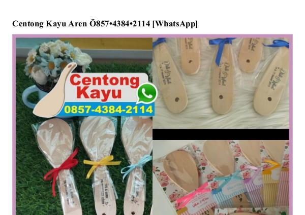 Centong Kayu Aren 0857·4384·2114[wa] centong kayu aren