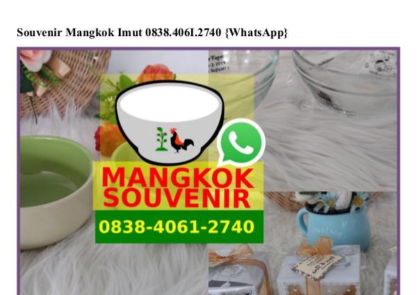 Souvenir Mangkok Imut 0838 406I 2740[wa] souvenir mangkok imut