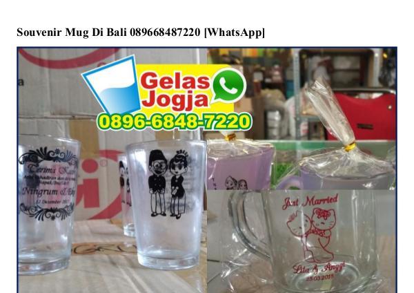 Souvenir Mug Di Bali O896–6848–722O[wa] souvenir mug di bali
