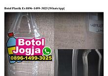 Botol Plastik Es 089614993025[wa]