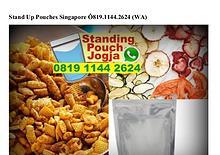 Stand Up Pouches Singapore O81911442624[wa]