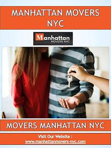 Movers Manhattan NYC