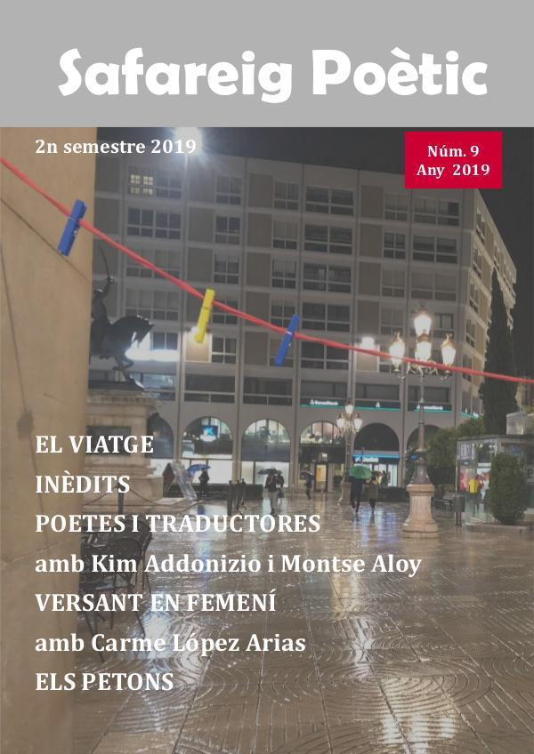 Revista Safareig Poètic núm 9 Revista Safareig_9