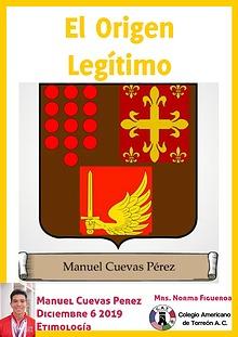 Etimología Manuel Cuevas