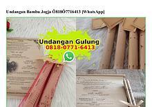 Undangan Bambu Jogja Ô8I8·Ô77I·64I3[wa]