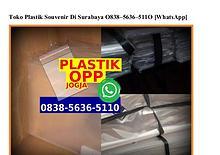 Toko Plastik Souvenir Di Surabaya 0838•5636•5110[wa]
