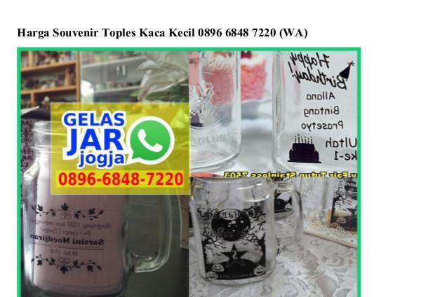 Harga Souvenir Toples Kaca Kecil O8966848722O[wa] harga souvenir toples kaca kecil