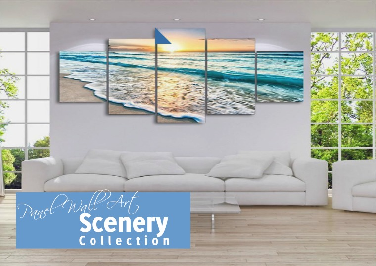 Scenery Multi-Panel Wall Art Collection for Your Home Scenery Multi-Panel Wall Art Collection for Your H