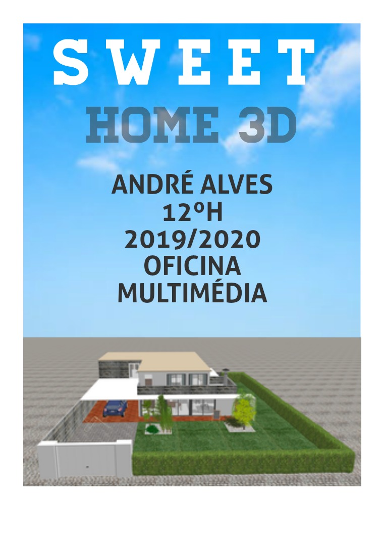 SWEET HOME 3D 1