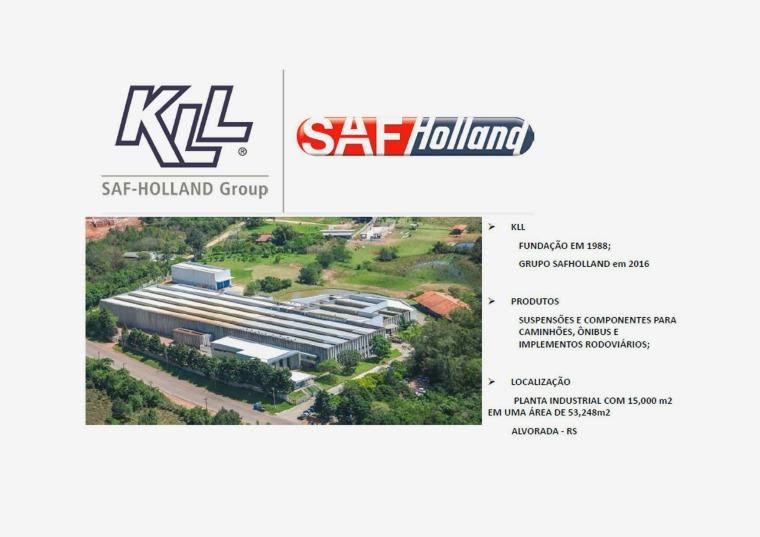 CATÁLOGO DE PEÇAS KLL /SAF HOLLAND 2020 Apresentação After
