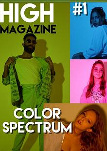 HIGH MAGAZINE #1 - COLOR SPECTRUM