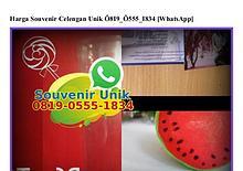 Harga Souvenir Celengan Unik 0819•0555•1834[wa]